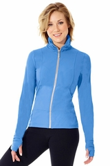 Mondor 4808 Vivid Blue Front Zipper Jacket