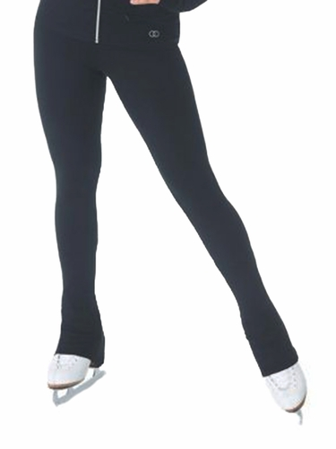 Mondor 4835 Black Legging w/ Zipper