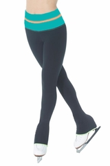 Mondor 4837 Jade Green Colour Block Leggings