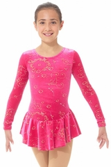Mondor Medieval Red Born To Skate Glitter Dress