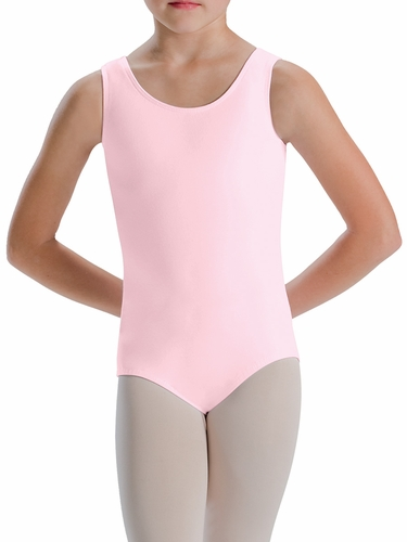 Motionwear Pink Tank Leotard