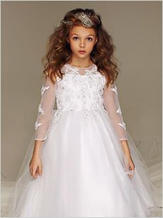 661213c2e New Arrivals · see collection Shop Collection. Blossom Designer Flower Girl  Dresses ...