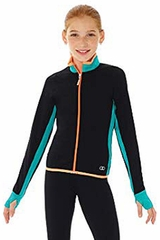 Mondor 4836 Jade Green Colour Block Supplex Jacket