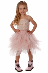 Ooh! La La! Couture FH1805 Heavenly Pink Lace Emma Dress