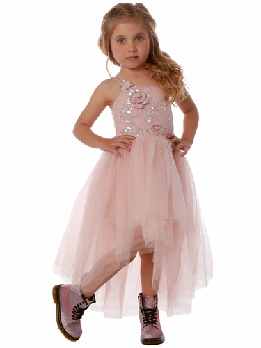 Ooh! La La! Couture FH1815 Heavenly Pink Kylee Dress