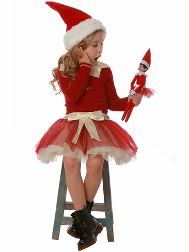 Ooh! La La! Couture FH1835 Elf On A Shelf Dress