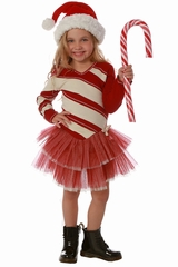Ooh! La La! Couture FH1836 Candy Cane Dress