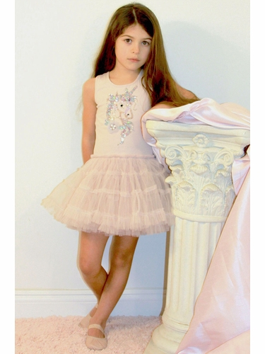 Ooh! La La! Couture SS1913 Powder Pink Magical Unicorn