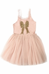 Ooh! La La! Couture SS1927 Pink Sequin Bow Dress