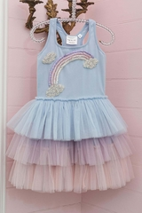 Ooh! La La! Couture SS2034 Rainbow Dress