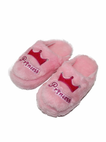 Pink Princess Slippers