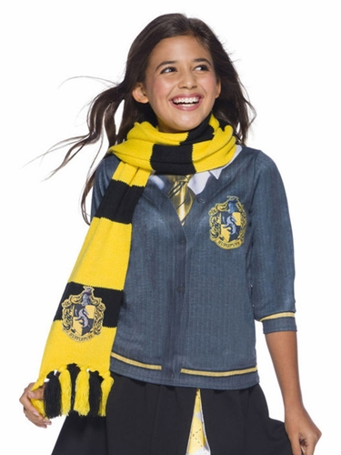 Rubie's 39035 Kids/Adult Deluxe Hufflepuff Scarf