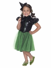 Rubie's 610752 The Wizard Of Oz Wicked Witch Of The West Sequin Costume