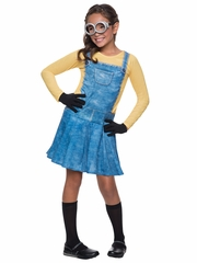 Rubie's 610786 Minions Movie Female Minion Costume