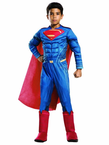 Rubie's 620568 Rubie's Dan Of Justice Superman Deluxe Muscle Chest Costume