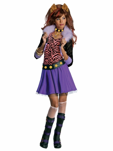 Rubie's 884788 Monster High Clawden Wolf Costume