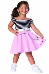 Rubie's 885617 50's Girl Costume