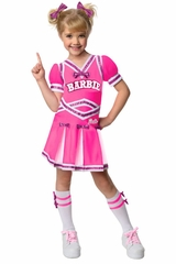 Rubie's 886749 Kids Cheerleader Barbie Costume