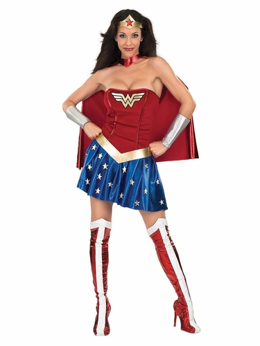 Rubie's 888439 Deluxe Adult Wonder Woman Costume
