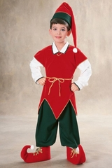 Rubies 10129 Child's Velvet Elf Costume