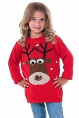 Rubies 620252 Kids Reindeer Christmas Sweater