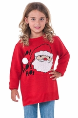 Rubies 620253 Kids Santa Christmas Sweater