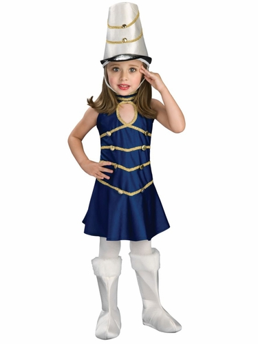 Rubies 885978 Lil' Soldier Girl Dress