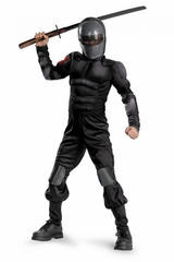 Snake Eyes Classic Muscle Boys Costume