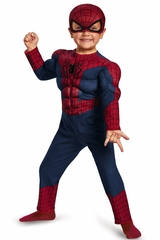 Spider Man 2 Toddler Muscle Costume