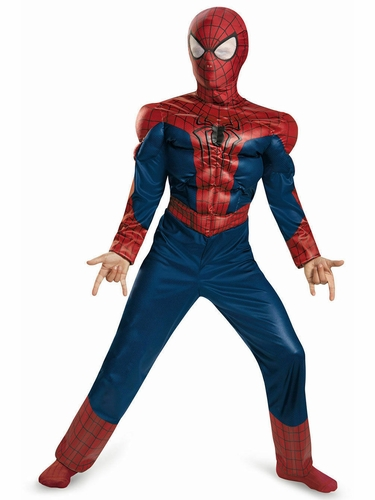 Spider Man Movie 2 Classic Muscle Costume