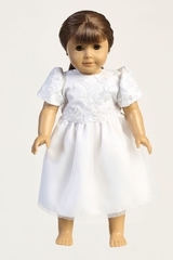 Swea Pea & Lili SP182Z Corded Tulle w/ Sequins Doll Dress