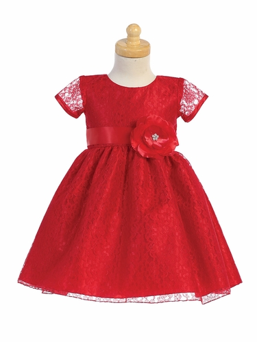 Swea Pea & Lilli C523 Lace Holiday Dress