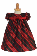 Swea Pea & Lilli C537 Red Plaid Baby Dress