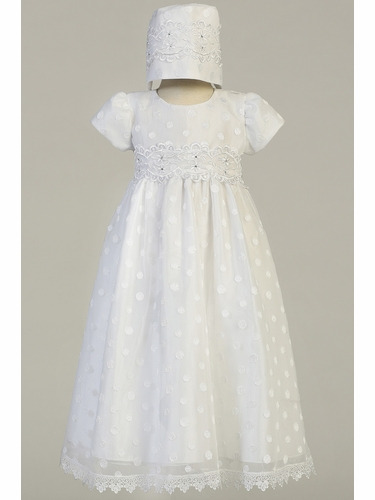 Swea Pea & Lilli Coco Embroidered Polka-Dot on Tulle