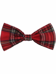 Swea Pea & Lilli HB5 Red Plaid Hair Bow