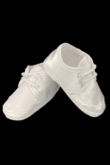 Swea Pea & Lilli Satin Boys Christening Booties