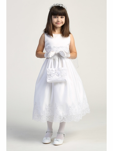 Swea Pea & Lilli SP184 Tulle Dress w/ Corded Embroidered & Sequins