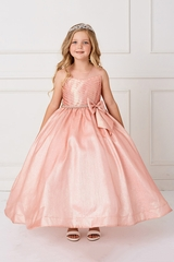 Tip Top 5777 Blush Illusion Glitter Ballgown