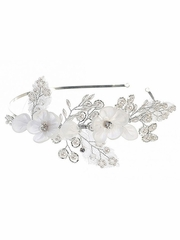 Tip Top Kids 195 Ivory Floral Headband