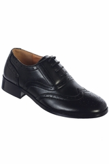 Tip Top Kids S121 Boy's Black Formal Wear Shoes