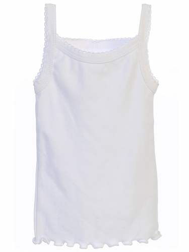 Tip Top Kids U4404 Girl's Spaghetti Strap Undershirt