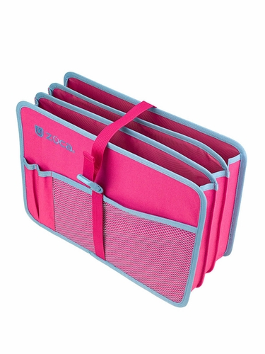 ZUCA Document Organizer- Pink/Blue