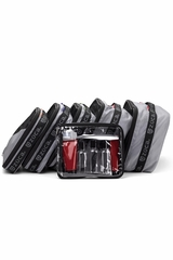 ZUCA Pouches-  Pro Packing Pouches, Black Set of 5