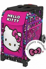 ZUCA Print Inserts - Hello Kitty Bow Party w/ Keychain Accessory