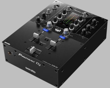 Pioneer DJM-S3 2-Channel Scratch Mixer With Serato DVS