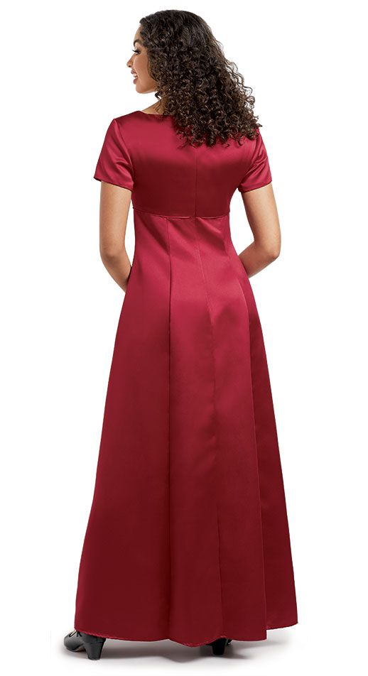 Satin Harmonia Choir Dress