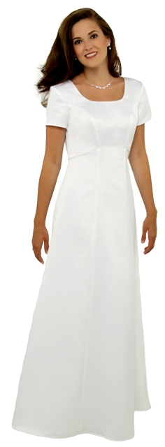 CLEARANCE Lined Deep Scoop Neck Dress