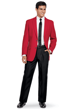 Men's Notch Lapel Blazer