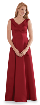 Arioso<br>Sleeveless Surplice Performance Dress