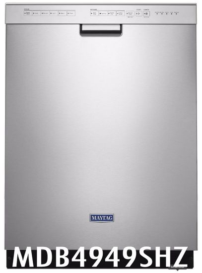 Maytag 50 dBA Dishwasher in Fingerprint Resistant Stainless Steel with Stainless Steel Tub Model MDB4949SHZ